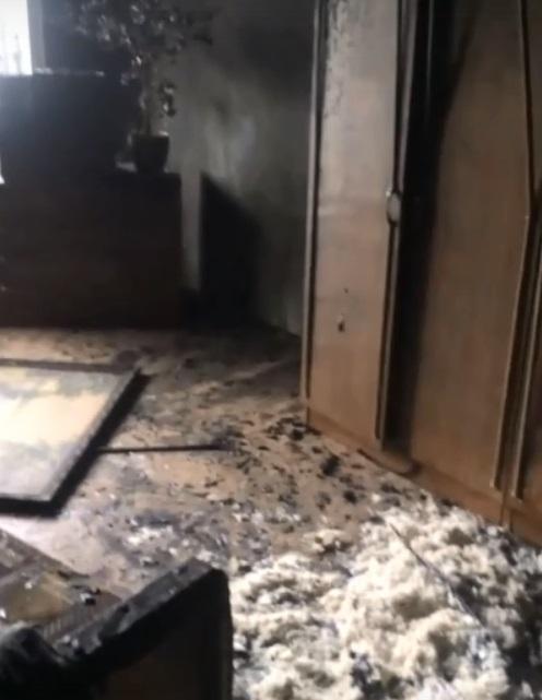 В Тольятти в ночном пожаре пострадал человек