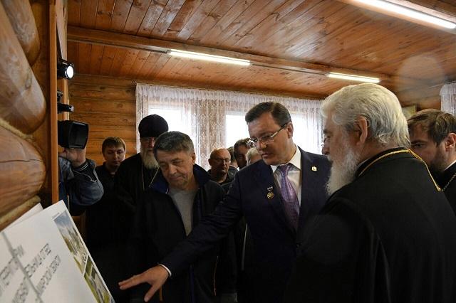 Губернатор провел совещание по развитию Ташлинского храмового комплекса