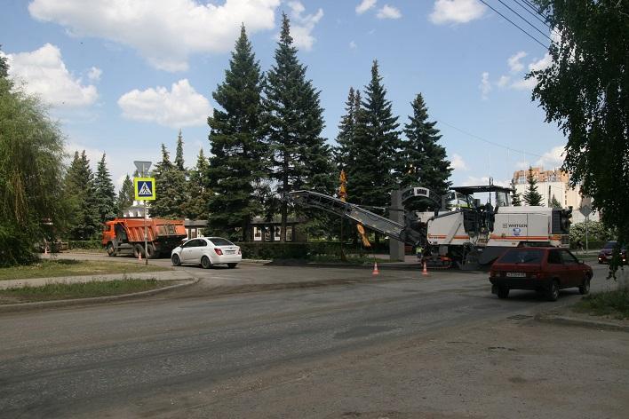 Ремонт дорог в Тольятти стартовал с Центрального района