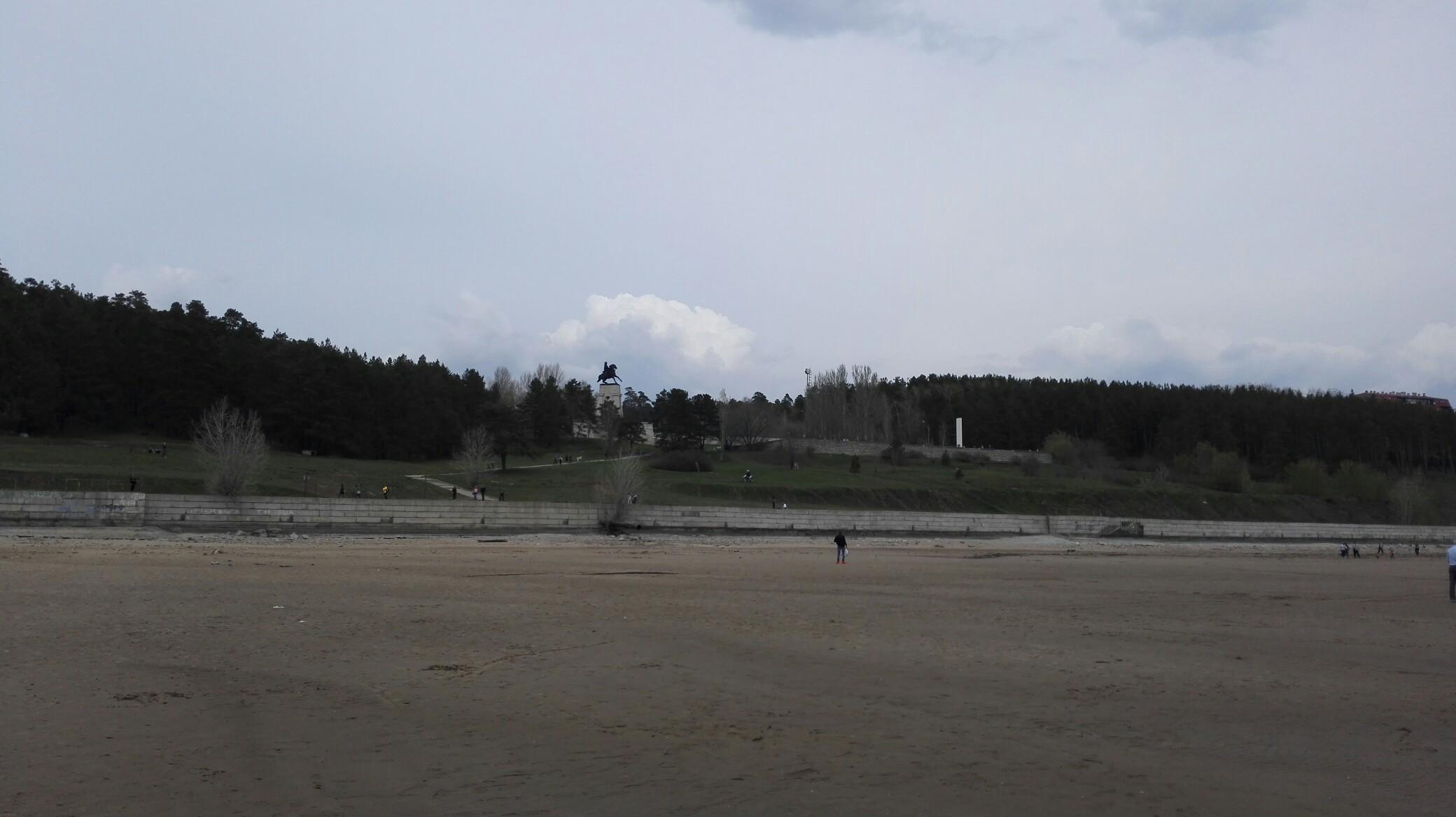 Уровень воды в Волге у Тольятти ниже нормы на 2 метра