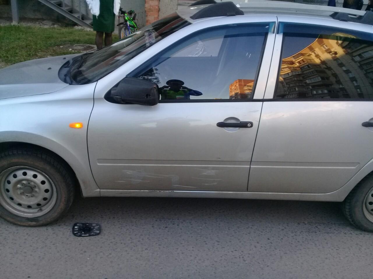 В Тольятти во дворе дома водитель «Гранты» сбил ребенка