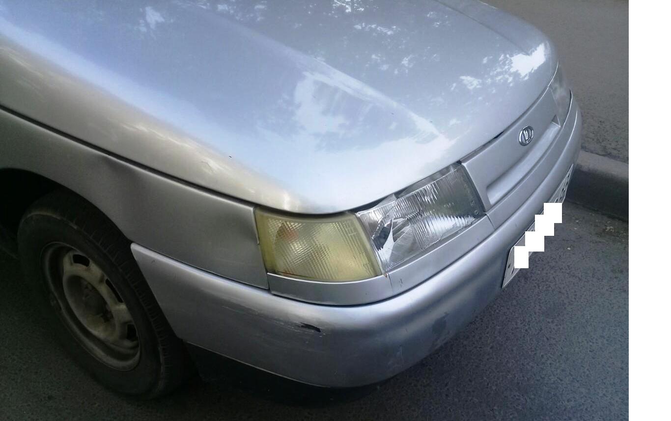 В Тольятти машина во дворе сбила юного велосипедиста