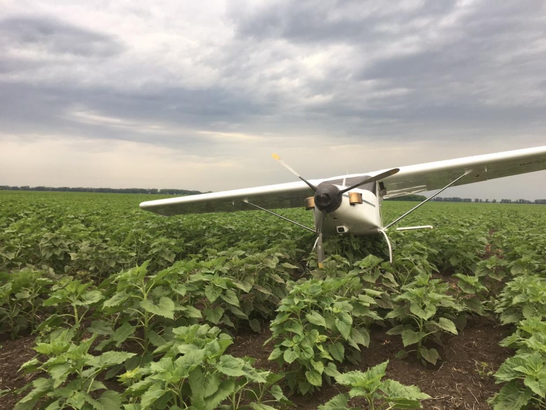 На поле под Тольятти обнаружен самолет без пилота и пассажиров