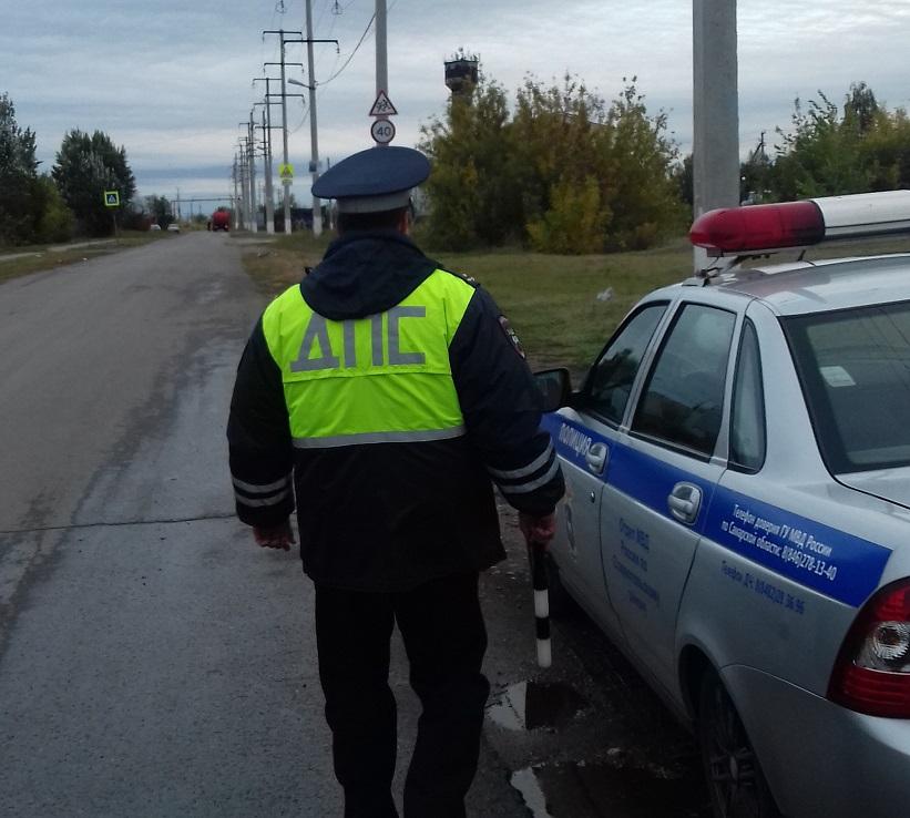 Сотрудники ГИБДД проведут рейды на трассах под Тольятти