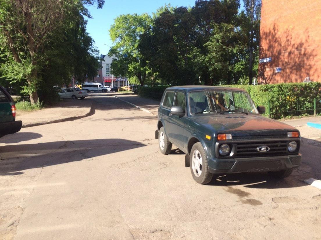 В Тольятти пенсионерка попала под колеса «Нивы»