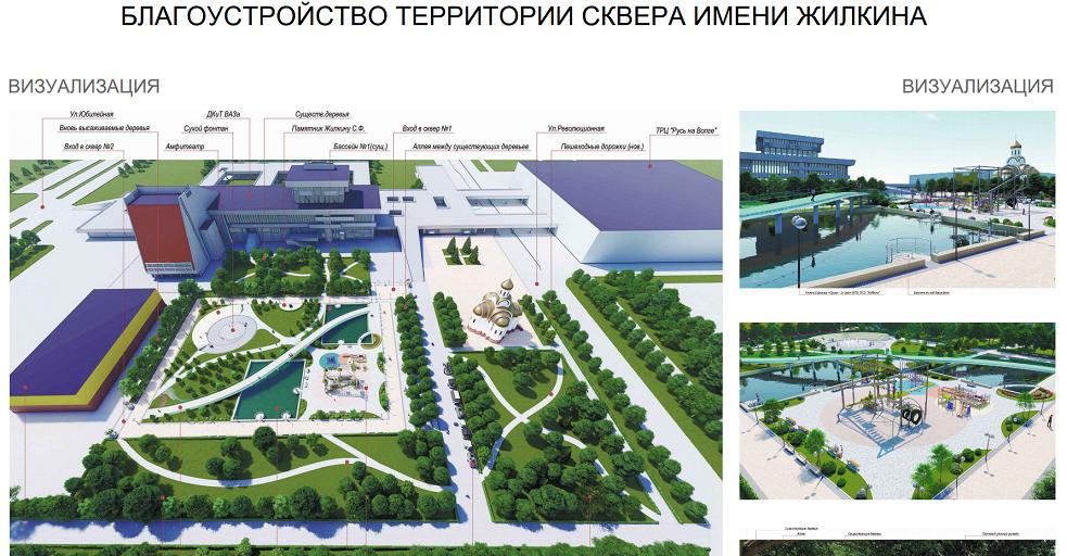 Опрос: Тольяттинцы выбирают городские объекты, которые нужно благоустроить в первую очередь