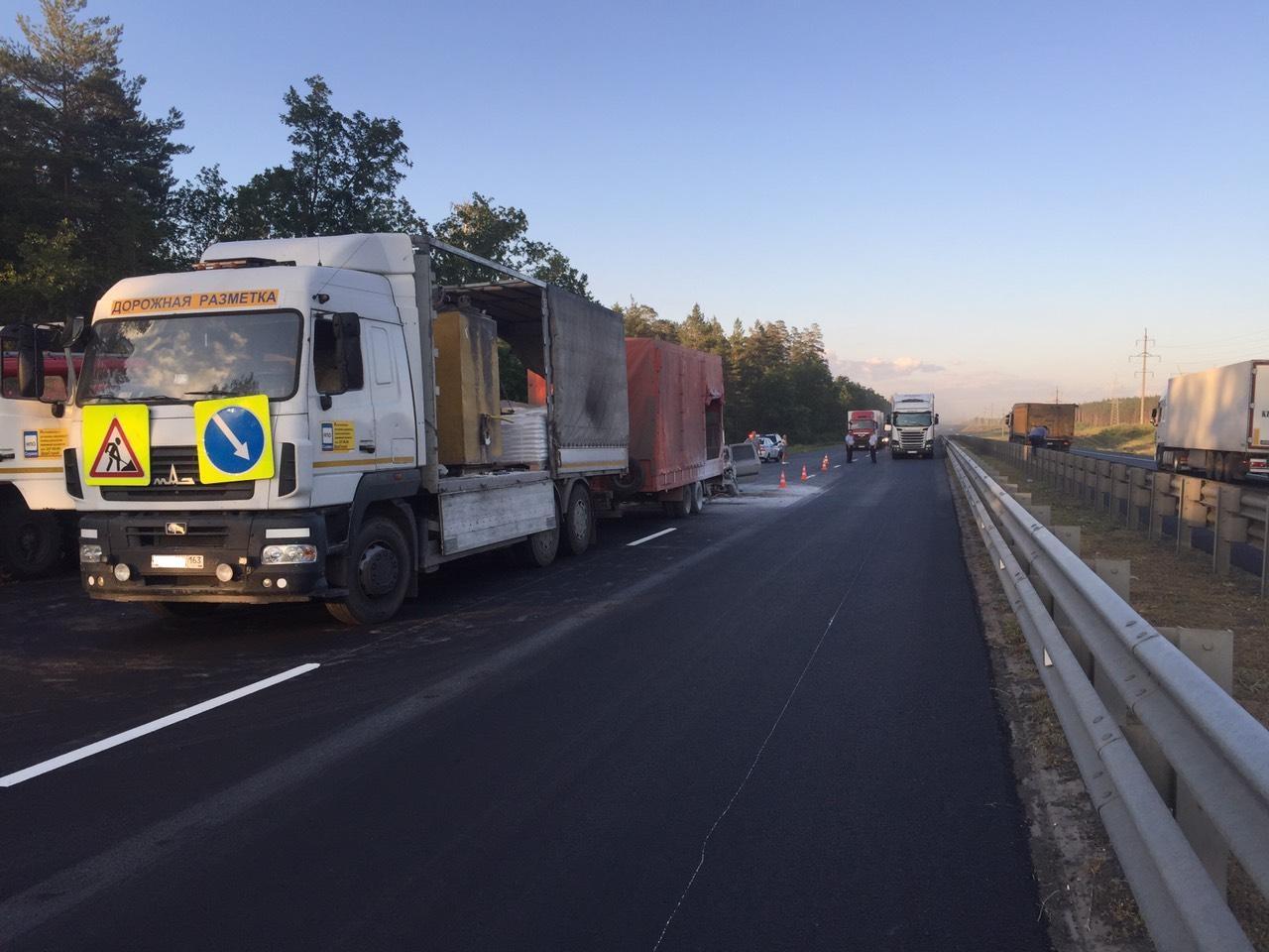 Авария под Тольятти: один человек погиб, пятеро пострадавших