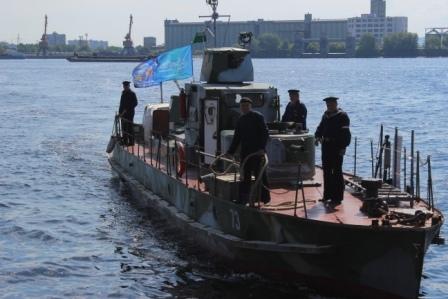 В Тольятти прибыл бронекатер «БК-73»