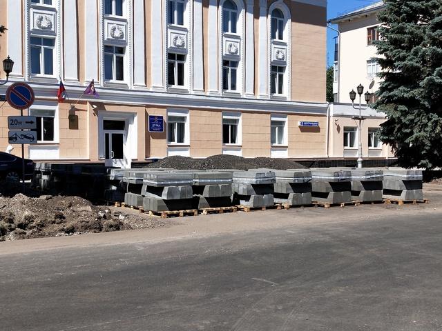 В Тольятти дорогу на Ленинградской отремонтируют к концу июля