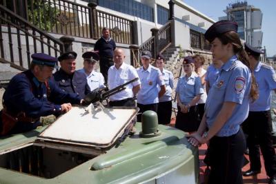 В Тольятти прибудет бронетанкер «БК-73»