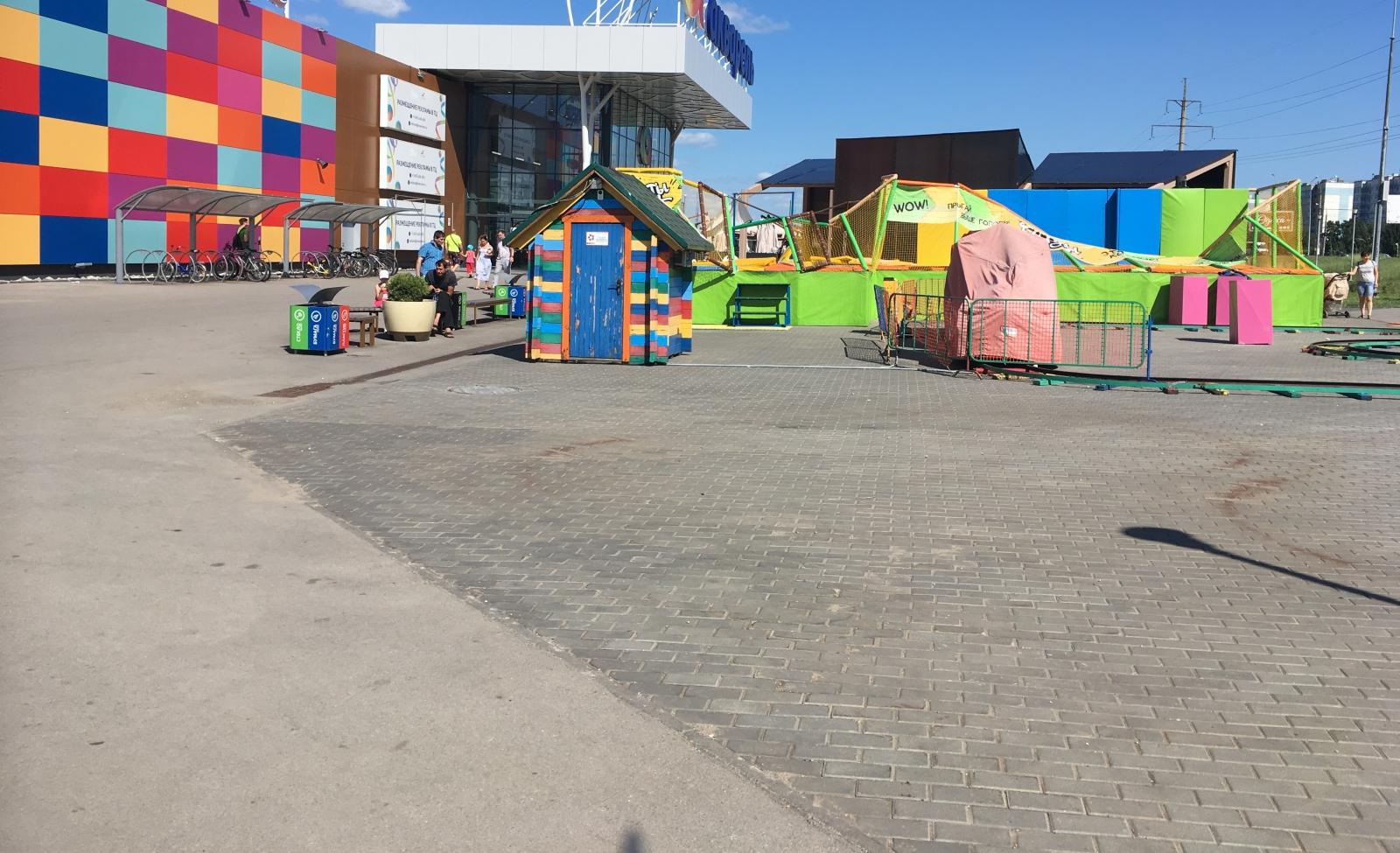 Опубликовано видео инцидента с батутом, где пострадали дети в Тольятти