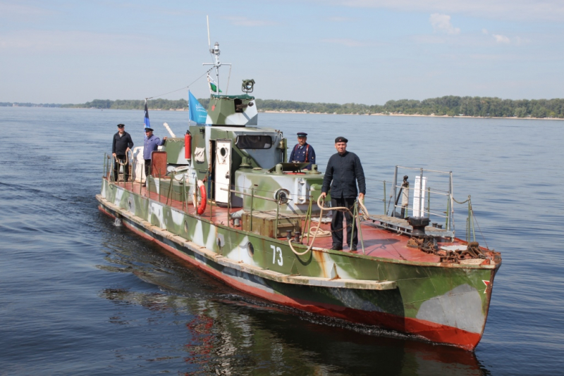 Сегодня в Тольятти прибудет экипаж бронекатера «БК-73»