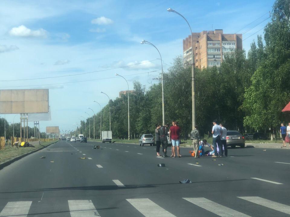В Тольятти мотоциклист сбил насмерть пешехода