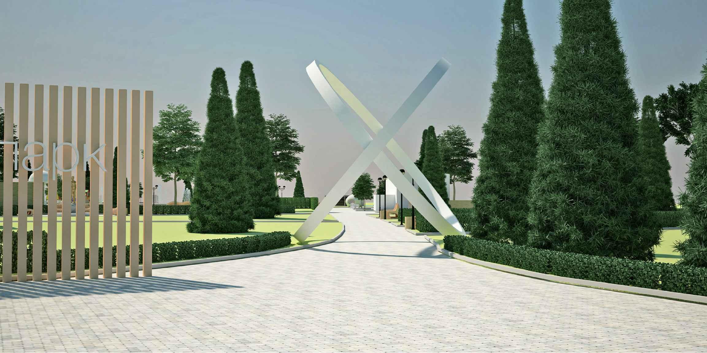 Итальянский сквер в Тольятти готов лишь на 15 %