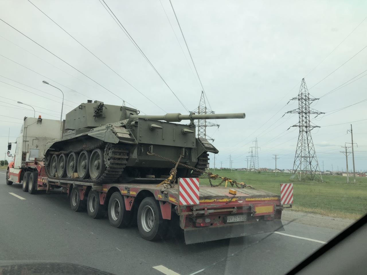 В Тольятти прибывает военная техника
