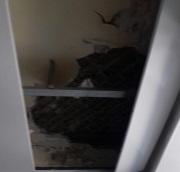 В самарской больнице на пациента обрушился потолок
