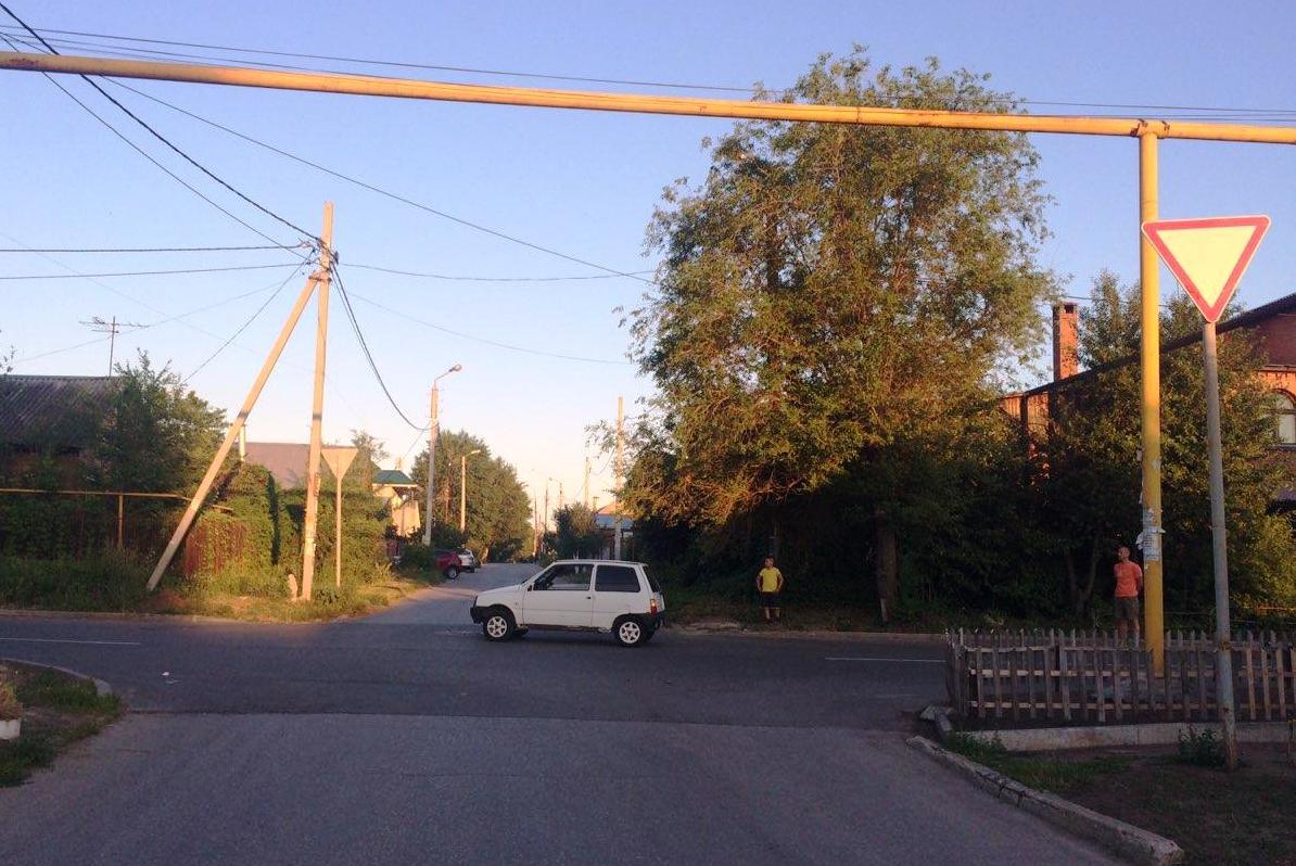 В Тольятти девочка на велосипеде попала под колеса «Оки»