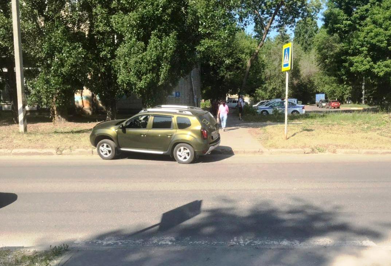 В Тольятти Renault сбил ребенка на пешеходном переходе