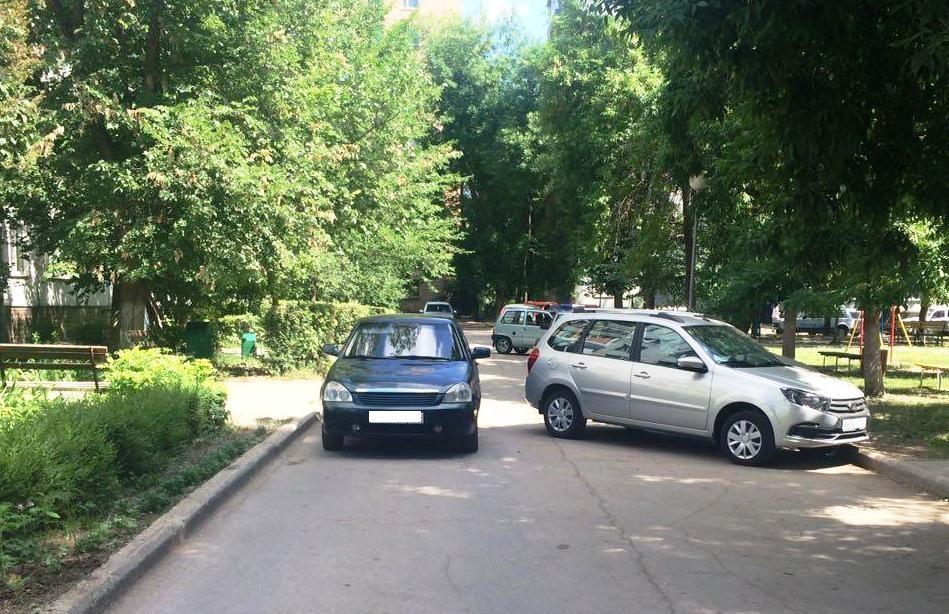 В Тольятти пятилетняя девочка попала под колеса «Приоры»