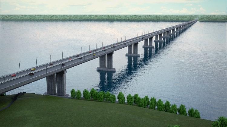 Стало известно, когда начнутся работы по строительству моста через Волгу под Тольятти