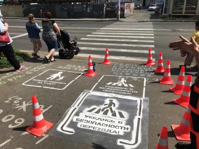 «Возьми за руку ребенка»: В Тольятти придумали необычный способ борьбы с аварийностью на пешеходных переходах