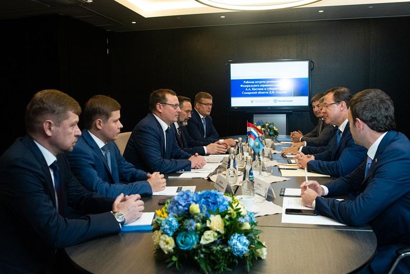 Несколько крупных проектов реализуют на трассе М-5 в Самарской области к концу 2024 года