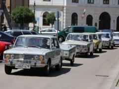 Участники ретро-автопробега «Жигули» посетили Надьканижу