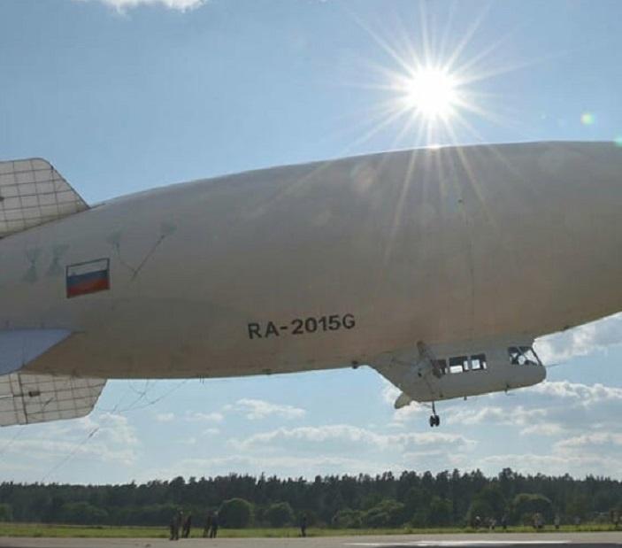 В Самарской области дирижабль ищет водителей-нарушителей