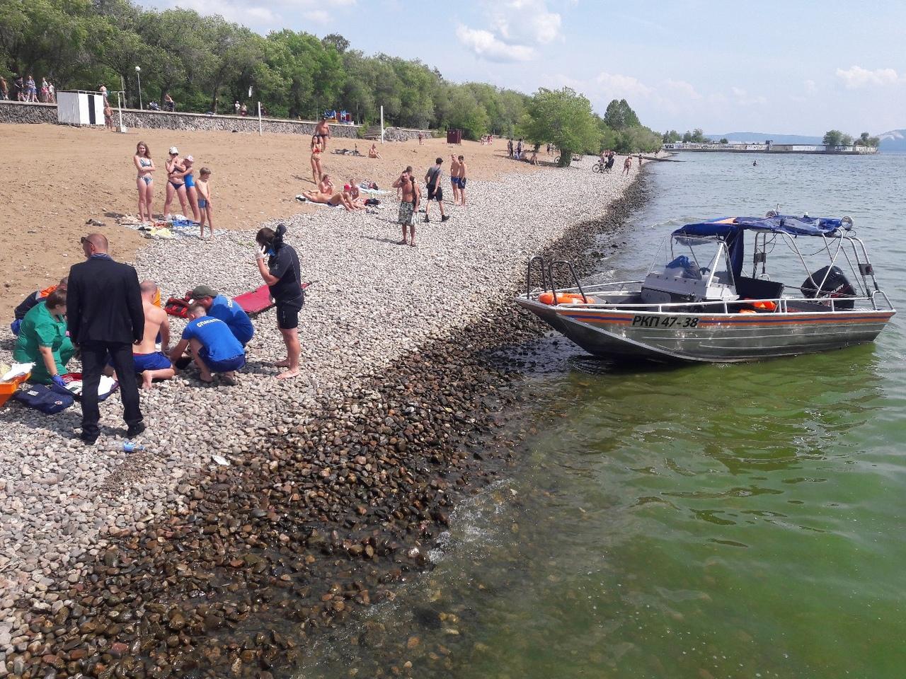 На Набережной 6 квартала в Тольятти утонул ребенок
