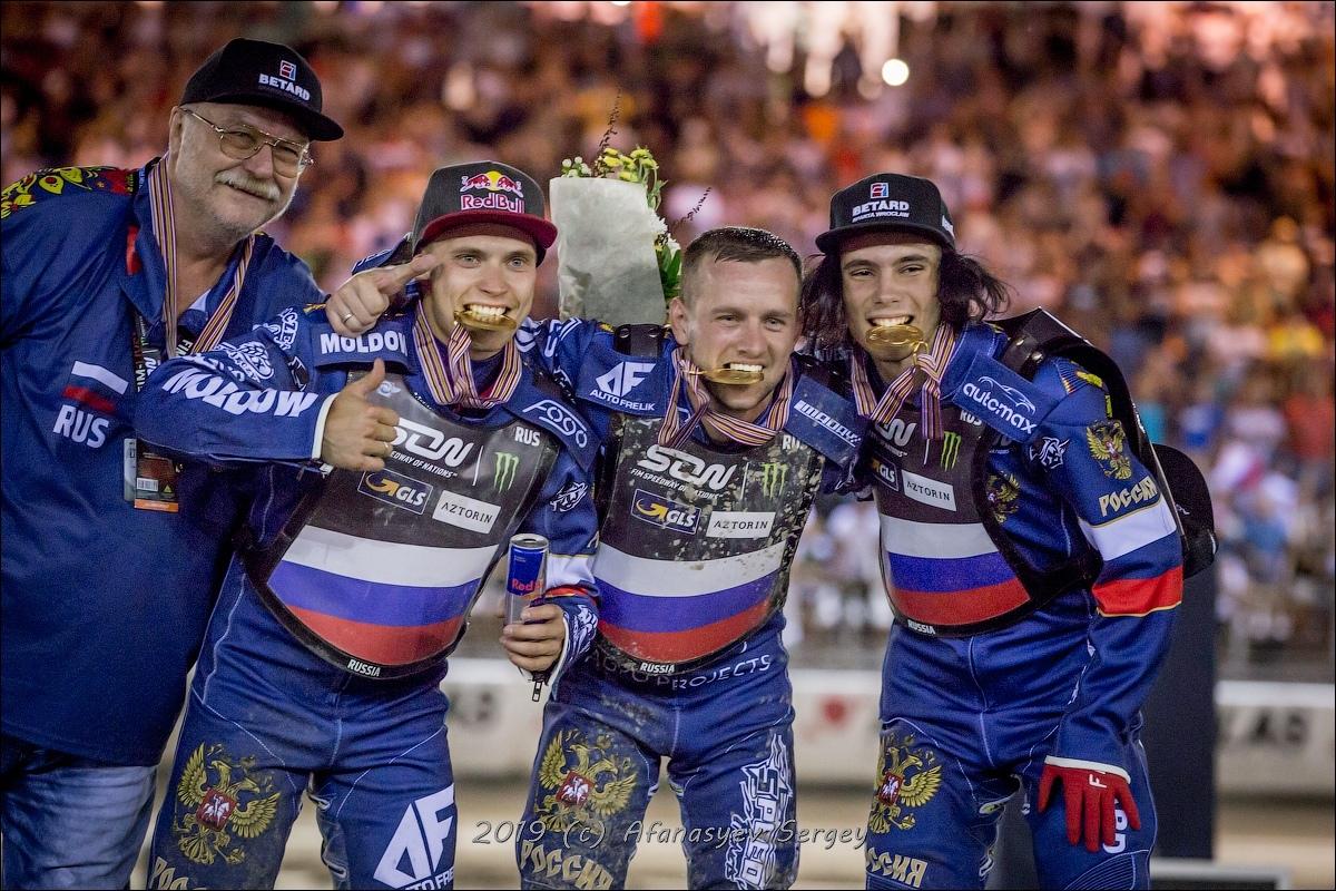 Сборная России в Тольятти стала двукратным чемпионом мира по спидвею!