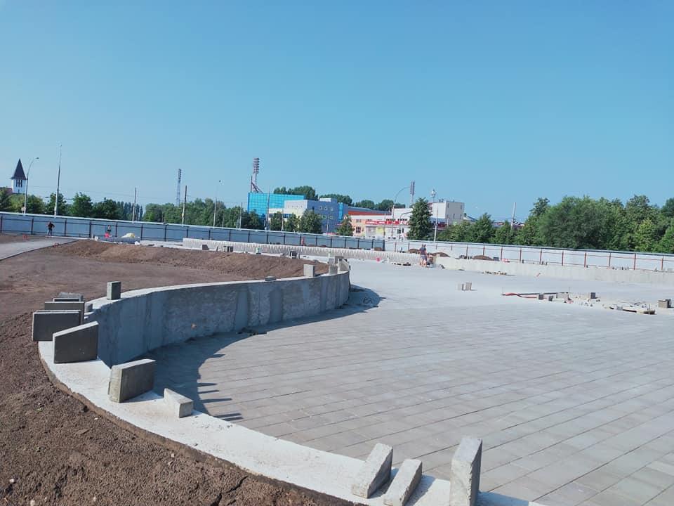 Власти показали новые фото строительства сквера 50-летия АВТОВАЗа