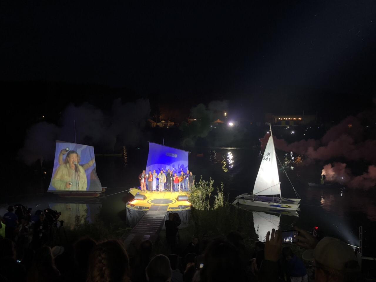 Грушинский фестиваль посетили 23 тысячи человек