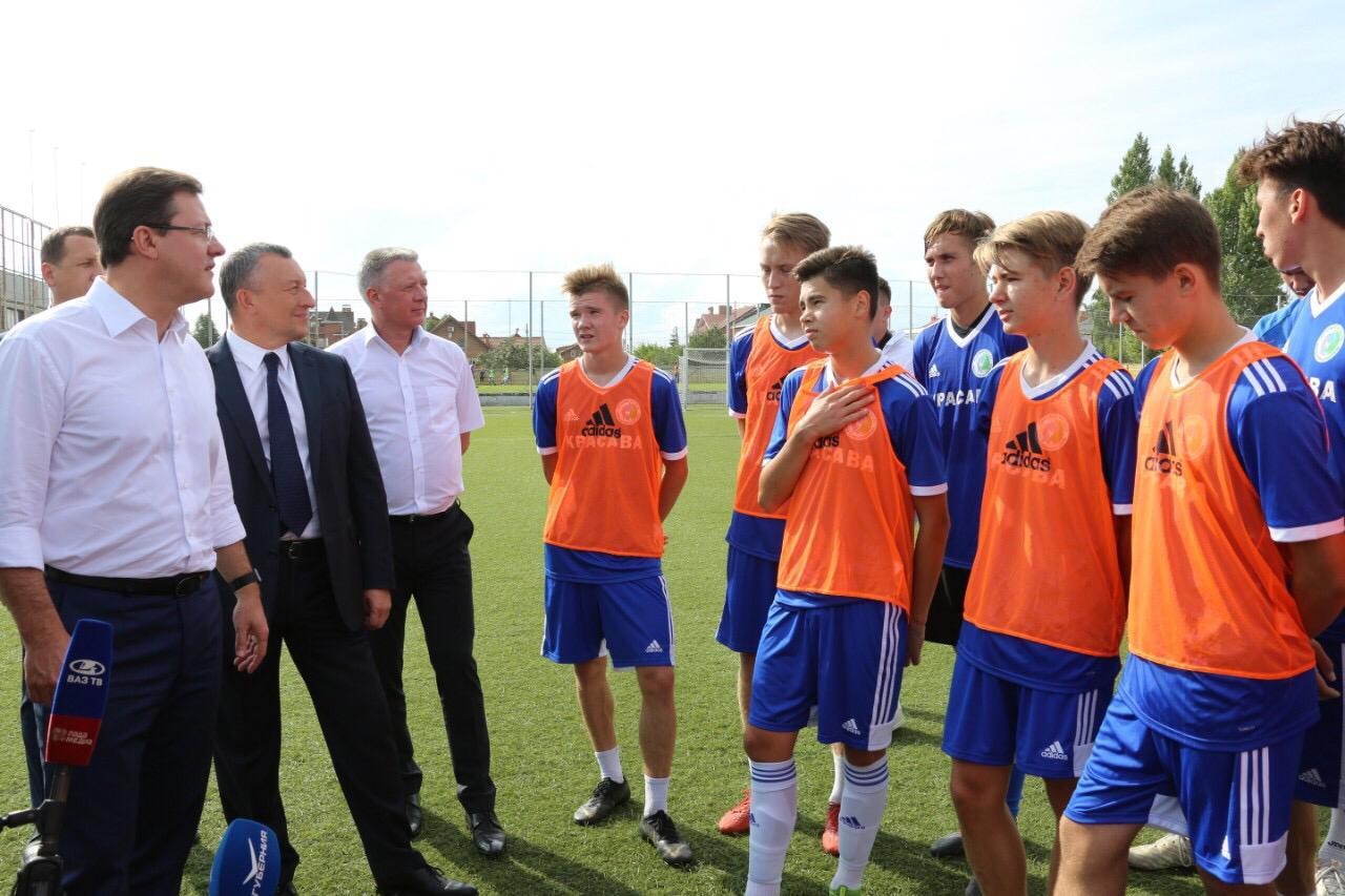 В Тольятти «реанимируют» Академию футбола имени Коноплева