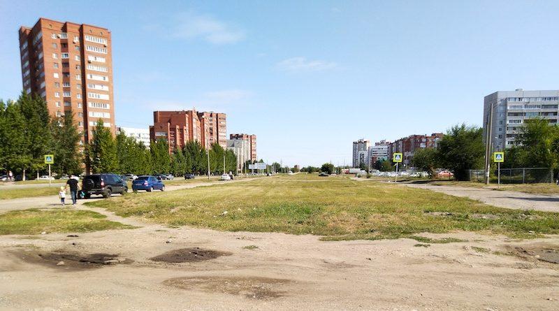 В Тольятти на улице Офицерской начали достраивать дорогу