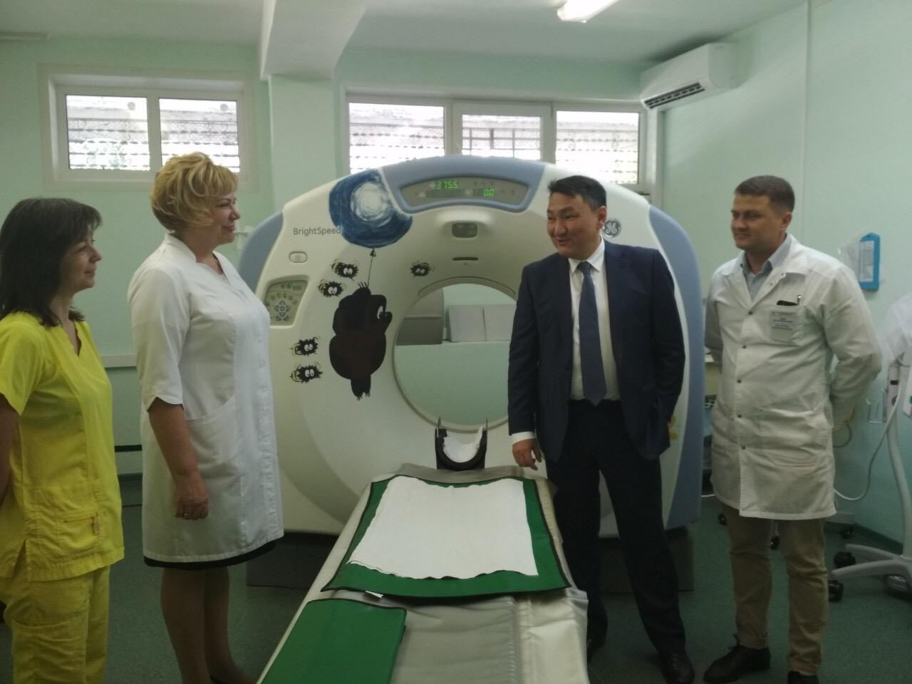 В Тольяттинской детской больнице появится МРТ