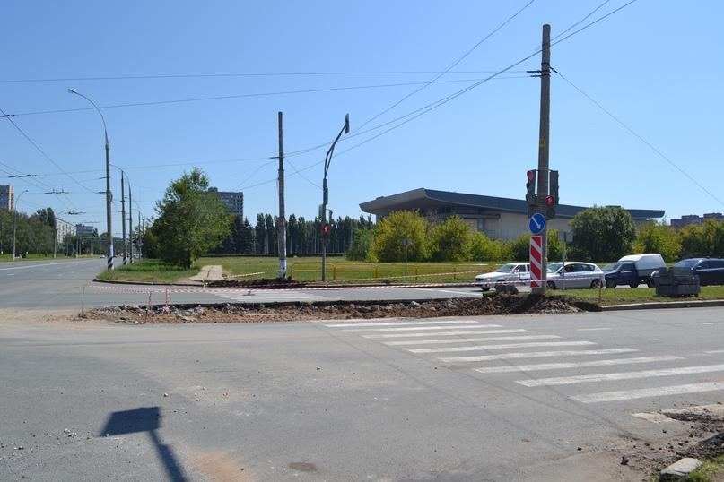 На тольяттинских дорогах удлиняют островки безопасности для пешеходов