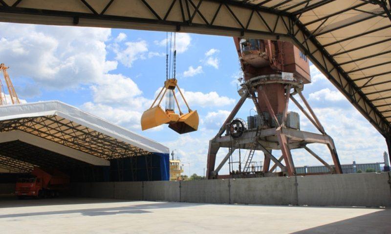 «Порт Тольятти» запустил в работу универсальный комплекс для хранения продукции