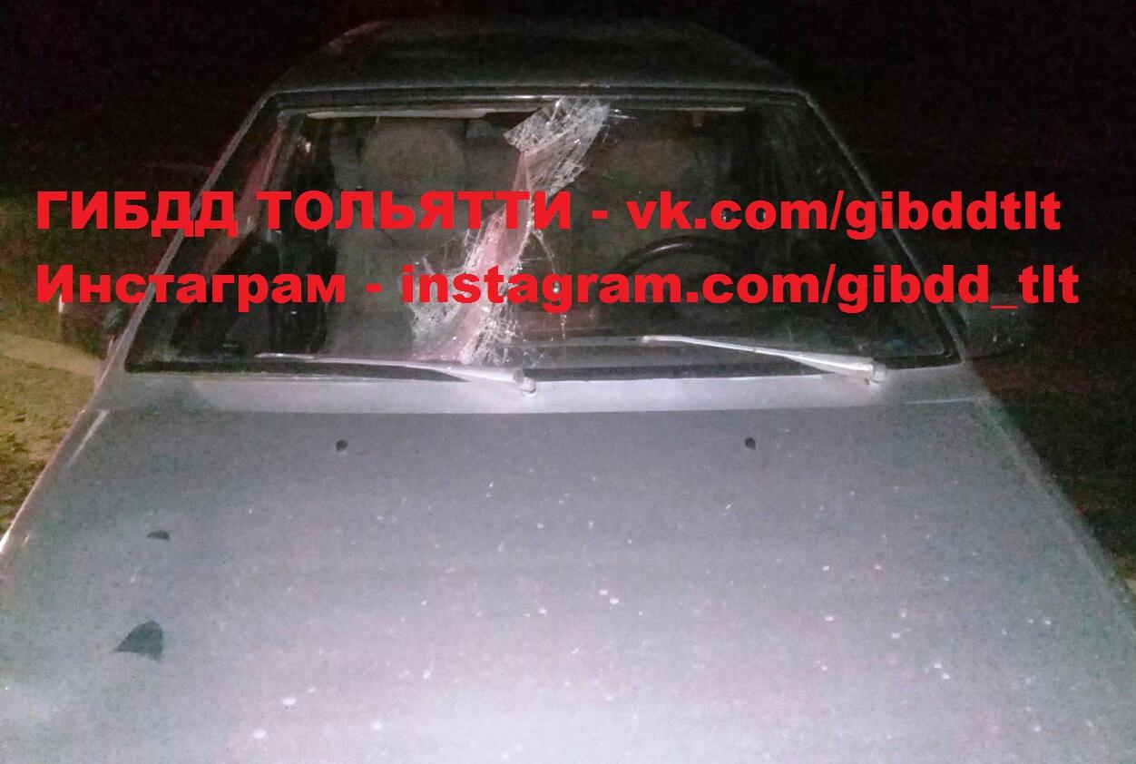 В Тольятти насмерть сбили женщину, шедшую по краю дороги