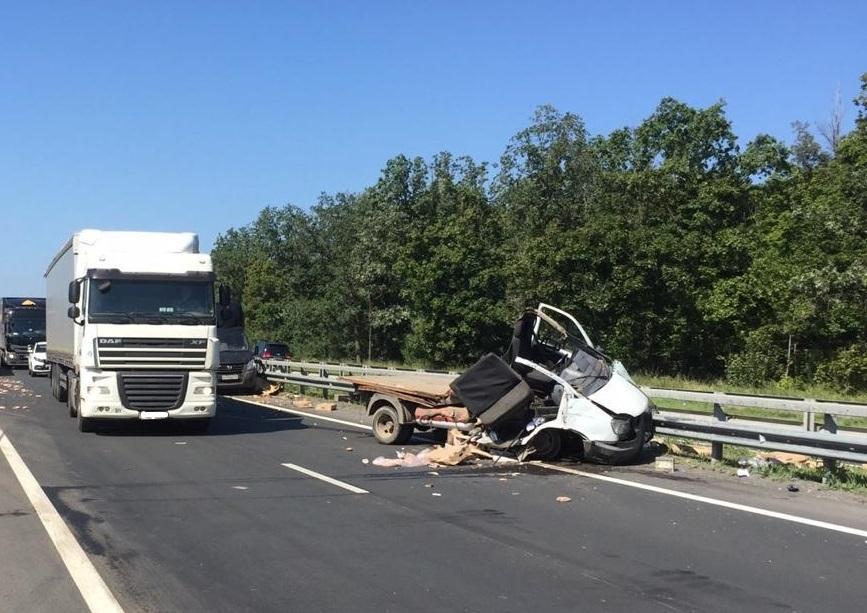Мясо раскидало по дороге: Стали известны подробности аварии грузовиков под Тольятти