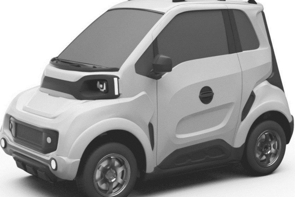 Опубликованы первые патентные изображения тольяттинского электромобиля