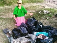 Тольяттинцы целыми семьями принимают участие в акции «Чистый лес»