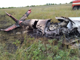 Разбившийся под Тольятти пилот выполнял фигуры высшего пилотажа