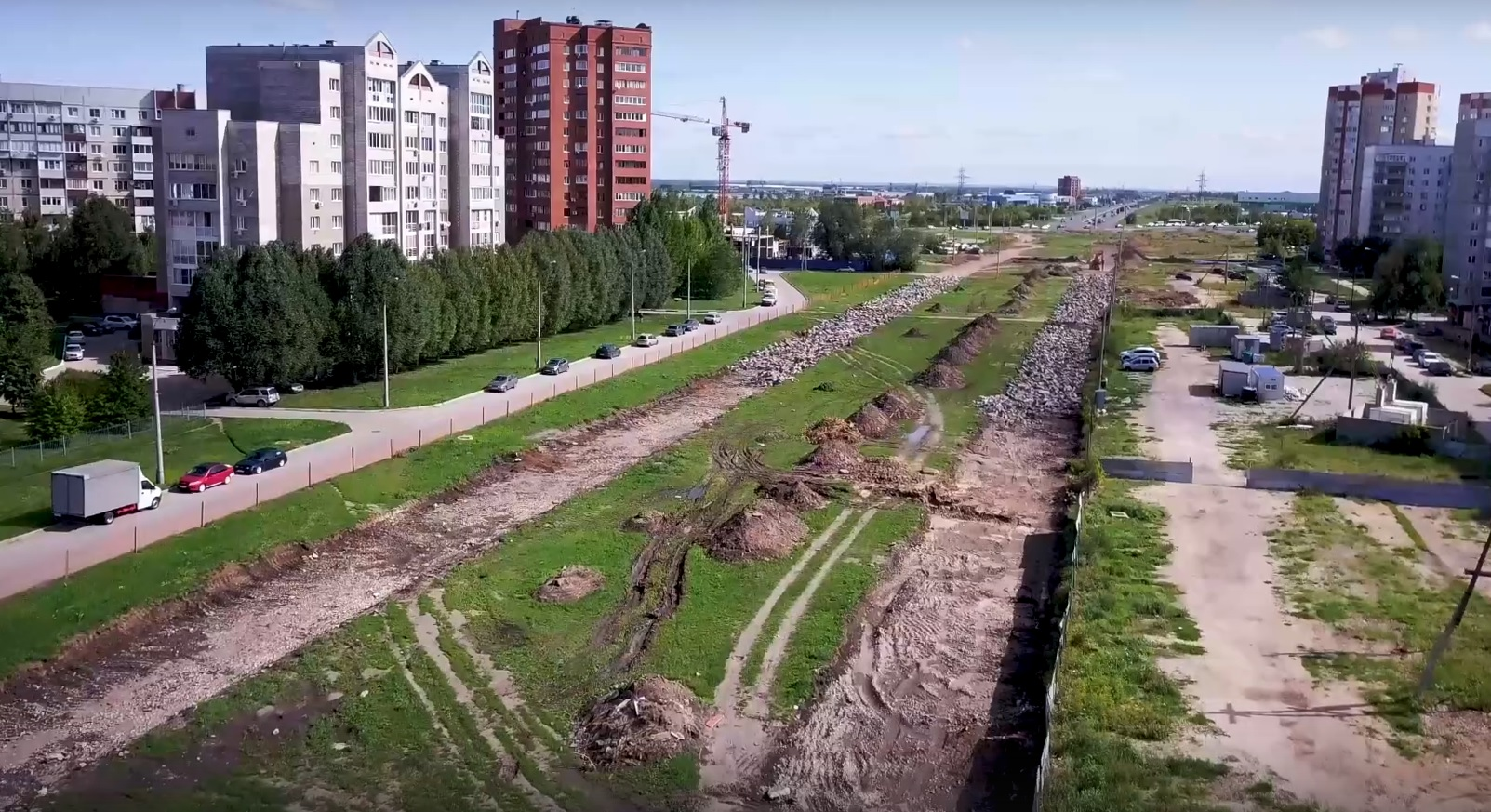 В Тольятти начали строить улицу Офицерскую