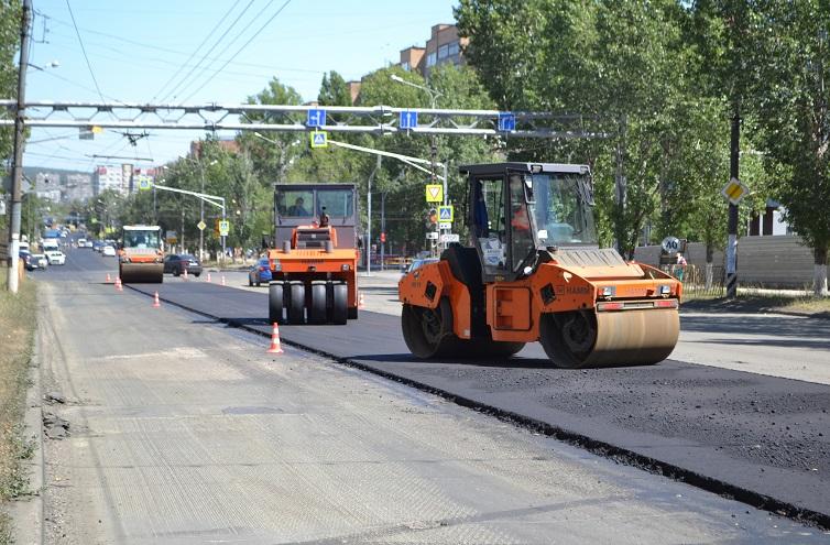 В Тольятти завершены дорожные работы на двух участках дорог