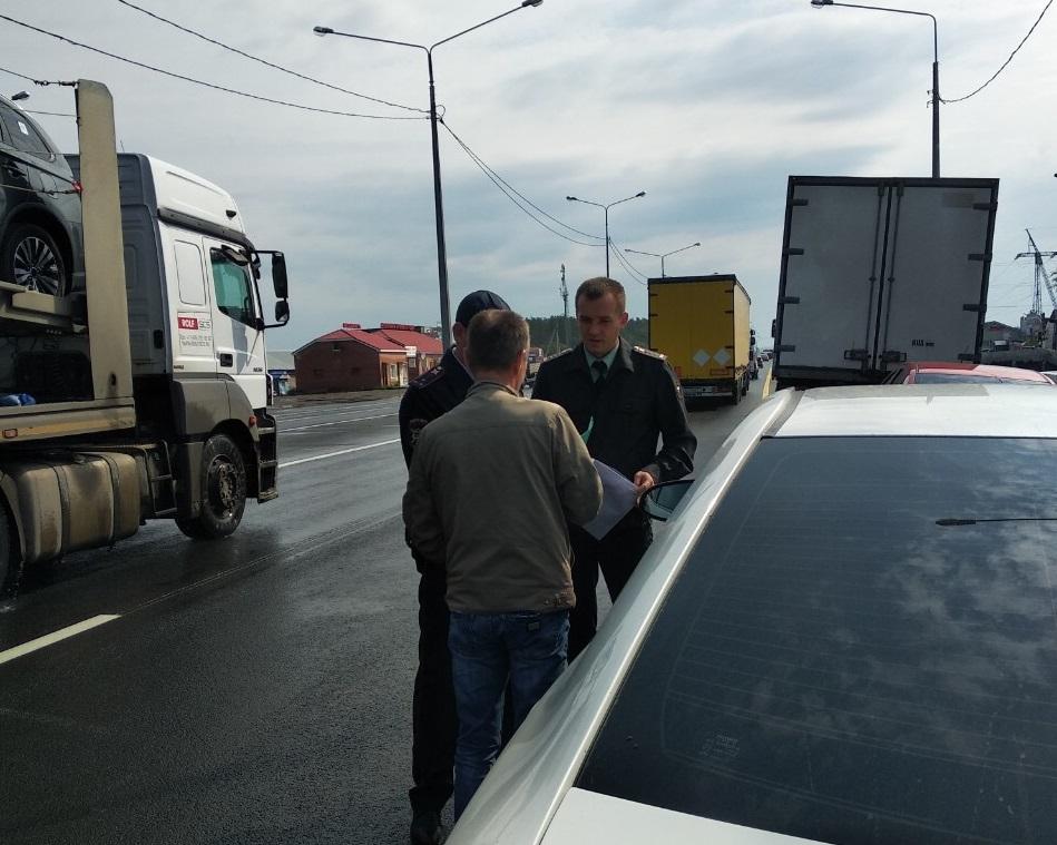 Рейд на дороге: В Тольятти половина автомобилистов не оплачивают штрафы