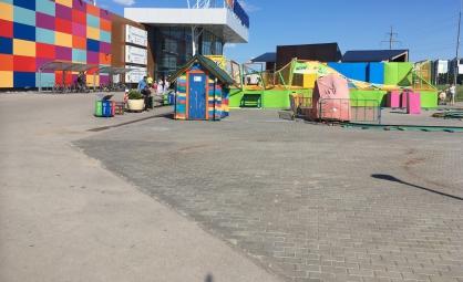 За опрокинувшийся батут с детьми в Тольятти ответит главный инженер