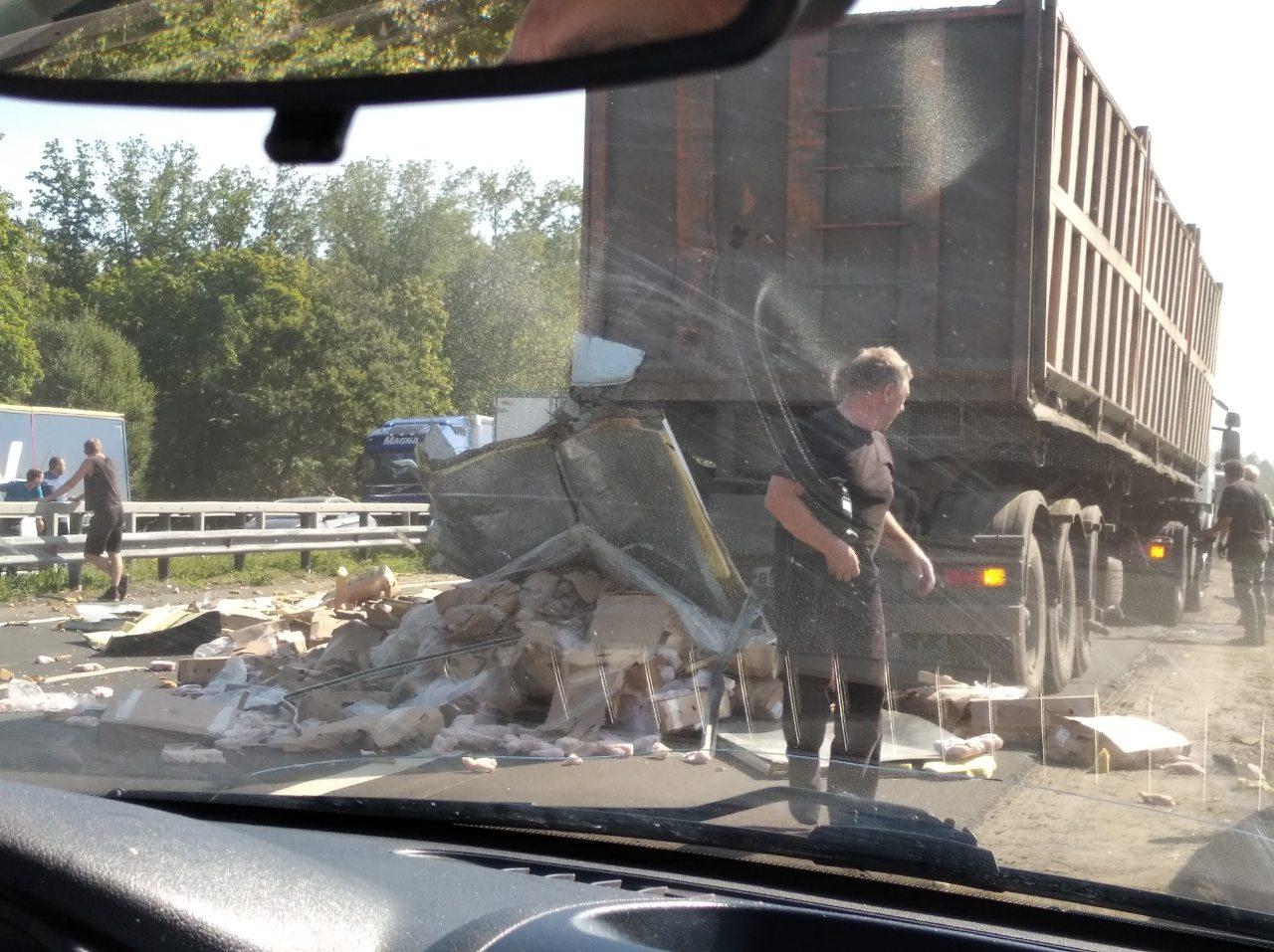Вблизи Тольятти на М-5 собирается пробка из-за аварии с пострадавшими