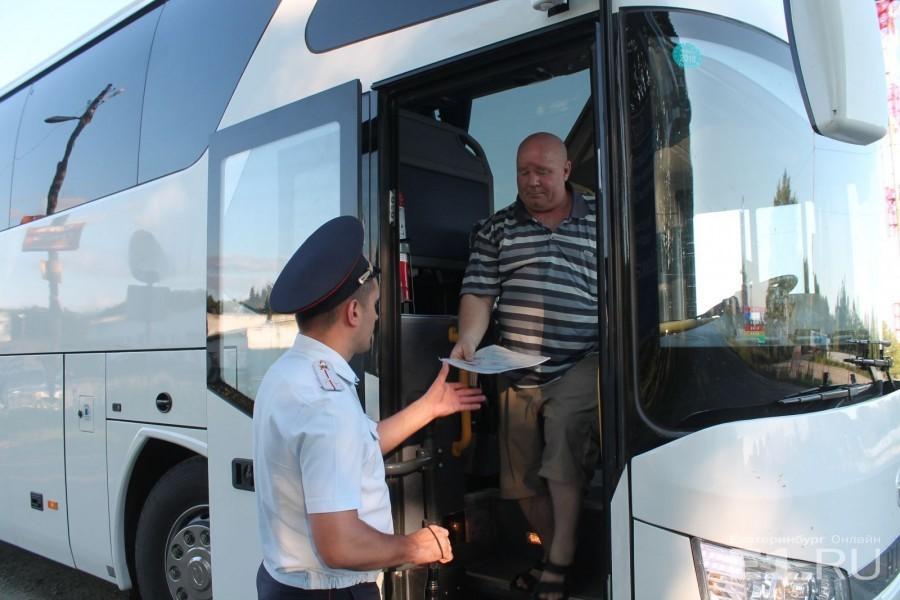ГИБДД начинает проверки автобусов по всей Самарской области