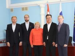 Японцам рассказали о международных проектах, реализуемых в Тольятти