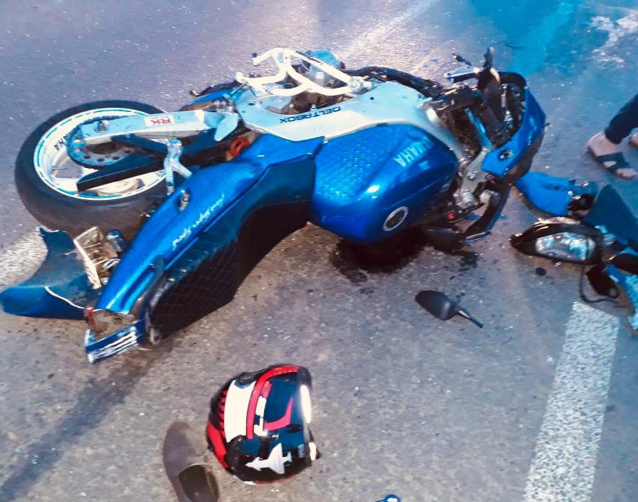 В Тольятти мотоциклист устроил крупную аварию